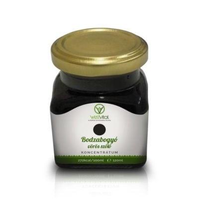 WellVital Bodzabogyó-vörös szőlő koncentrátum